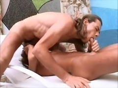 hot shemale cums getting fucked