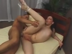 Latina tranny bnaged by BBC