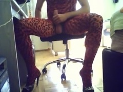 turkish CD wanking on webcam