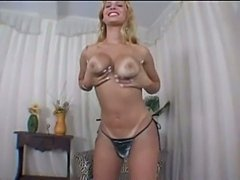 Busty and booty tranny solo