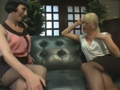 Mature Joanna Jet fucks with woman