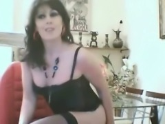Turkish tranny Cagri posing on cam