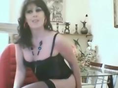Turkish tranny Cagri posing on cam