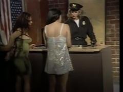 Threesome hot fucking in prison