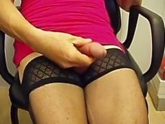 Cum on stockings
