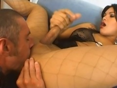 Lust tranny ass drilling dude