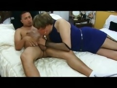 Kinky mature CD ass drilled