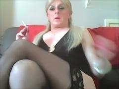 Sissy Faggot Smokes