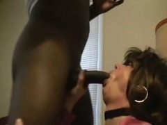 Hot CD interracial fuck