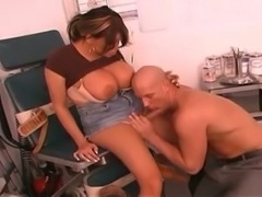 Titty Twhore with doctor ass fuck each other