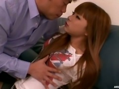 Petite ladyboy gets anal insertions