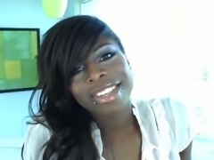 Ebony Tgirl solo