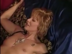 Super hot shemale and girl petting and sex