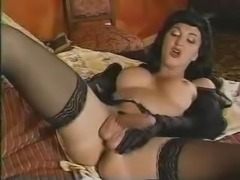 Olivia gets drilled in doggy style