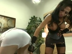 Wonderful Jaqueline gets a slave
