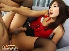 Appealing Asian TS Chick Bonked