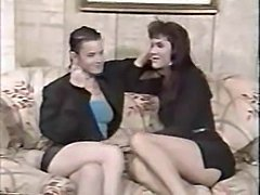 Vintage shemale and girl sex