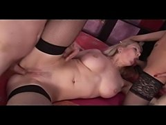 Slutty girl meets the cock and the t-cock