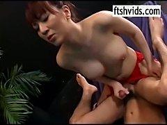 Japanese tranny fucking guy anus