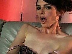 Pervert TS masturbation and smoking