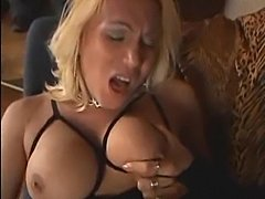 Sexy tgirl in awesome lingerie solo