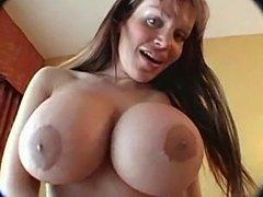 Busty Tgirls masturbation