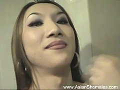 Asian shemales pee