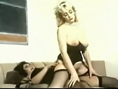 Vintage TS Devine And Her Maid