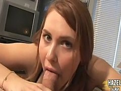 Tranny Hazel Tucker Sucks A Dick