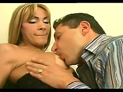 Tight ass tranny gets her hole ripped apart by a rockhard boner