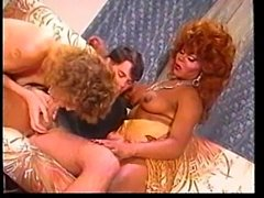 Vintage interracial orgy is for your delight