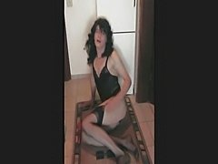 Sex toy for amateur crossdresser satisfaction