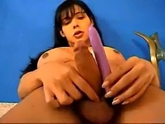 Small dildo for Tgirls ass hole
